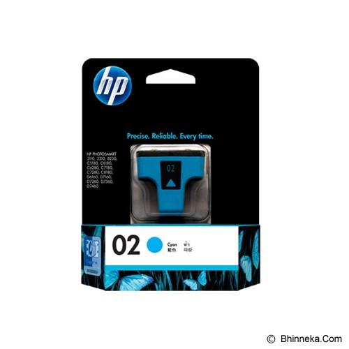 HP Cyan Ink Cartridge 02 [C8771WA] - Tinta Printer Hp